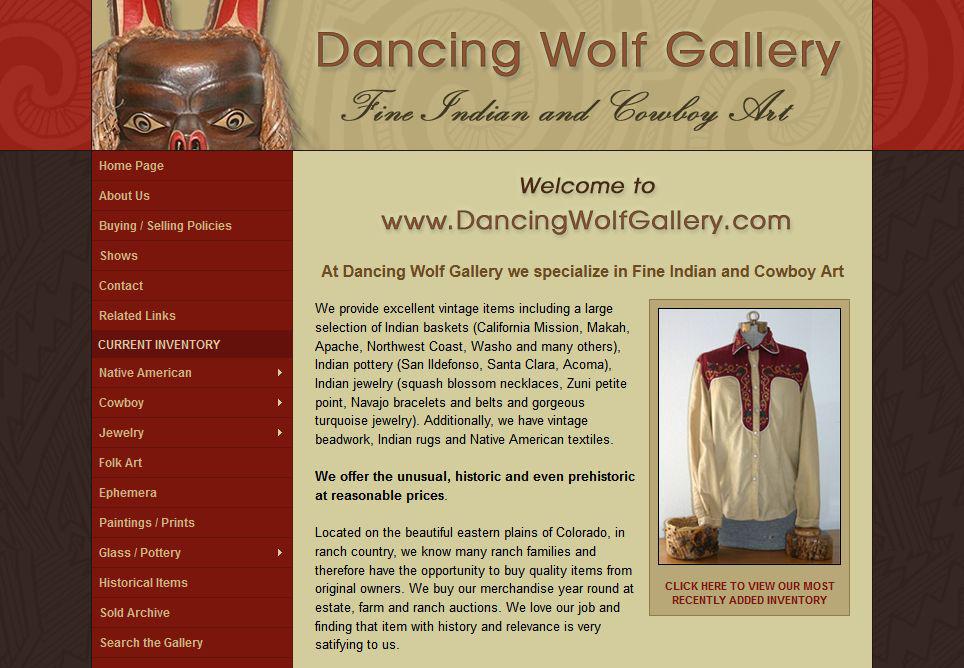 www_dancingwolfgallery_com