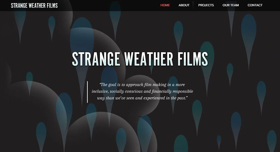 StrangeWeatherFilms
