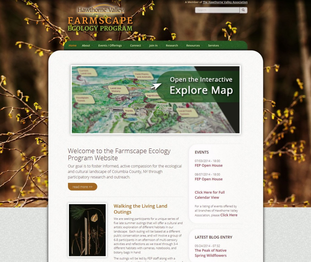 Farmscape Ecology Program Homepage